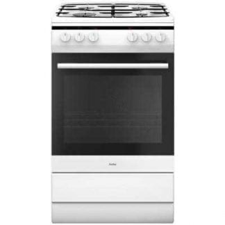 Amica 508GG5W - 50cm Single Cavity Gas Cooker - White-0