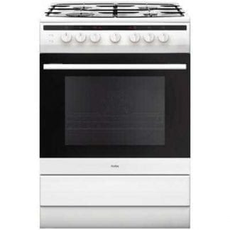 Amica 608GG5MSW - 60cm Single Cavity Gas Cooker - White-0