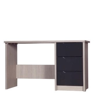 Dressing Table - Champagne Avola with Grey Gloss-0