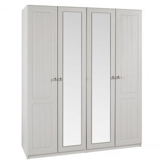 Tall 4 Door Robe - Cashmere-0