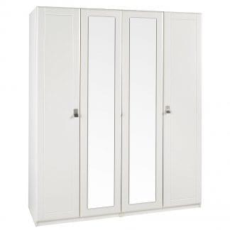 Tall 4 Door Robe - Cream-0