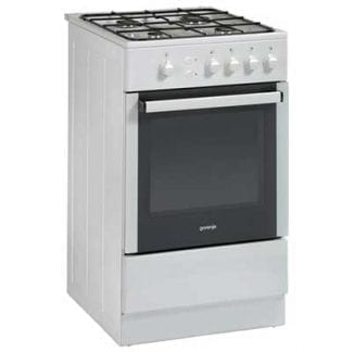 Gorenje GI52108AW - 50cm Single Cavity Gas Cooker - White-0