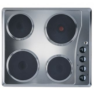 Ignis IGN-AKL7000IX - 4 Burner Electric Hob - Stainless Steel-0