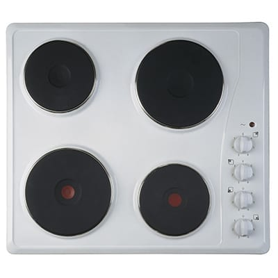 Ignis IGN-AKL7000WH - 4 Burner Electric Hob - White Enamel-0