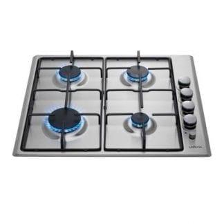 Lamona LAM1001 - 4 Burner Gas Hob - Stainless Steel-0