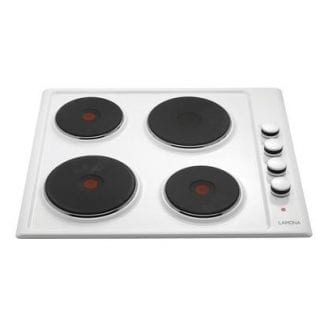 Lamona LAM1210 - 4 Burner Electric Hob - White Enamel-0