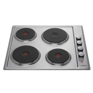 Lamona LAM1211 - 4 Burner Electric Hob - Stainless Steel-0