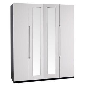 Tall 4 Door Robe - Black / Cashmere Gloss-0
