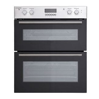 Montpellier MDO70X Double Cavity Built in Oven - Stainless Steel-0