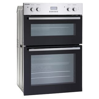 Montpellier MDO90X -Double Cavity Built in Oven - Stainless Steel-0