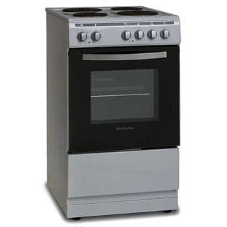 Montpellier MSE50S - 50cm Single Cavity Electric Cooker - Silver-0