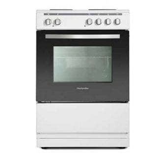 Montpellier MSE60W - 60cm Single Cavity Electric Cooker - White-0