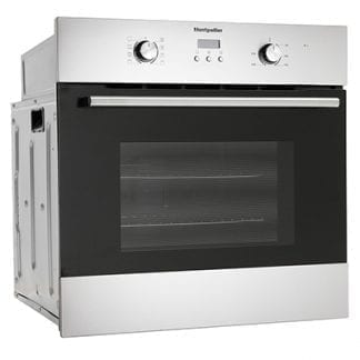 Montpellier SFO59MX - Single Fan Built in Oven - Stainless Steel-0