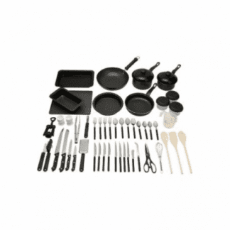 50 Piece Non-Stick Kitchen Starter Set-0