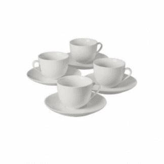 Focus 4 place Piece Porcelain Tea Set.-0