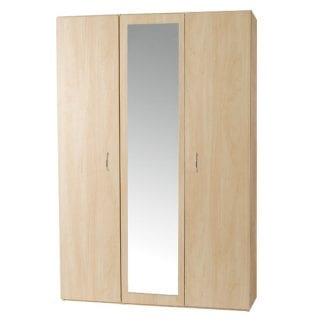 Budget - 3 Door Robe - Woodgrain-0