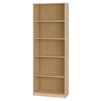 Budget - Bookcase Large - Woodgrain-0