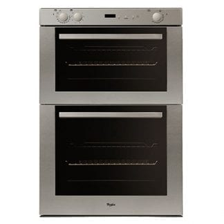 Whirlpool AKP801-01-IX - Double Cavity Built Under Oven - Stainless Steel-0