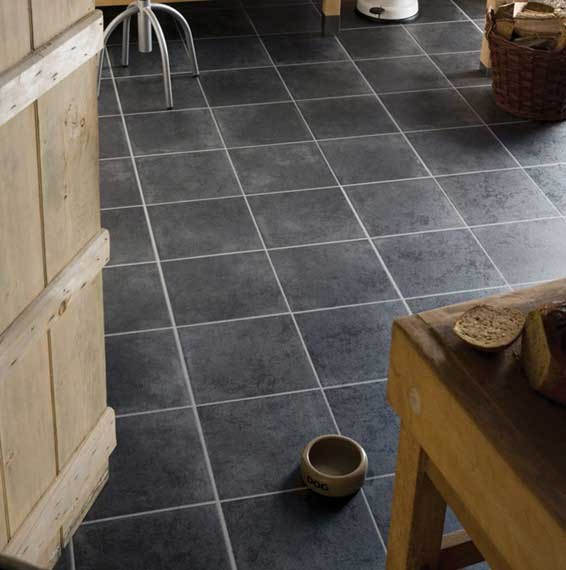 Kronospan Stoneline Xl Cotto Anthracite Laminate Flooring Focus