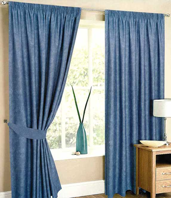 blue-lined-curtains