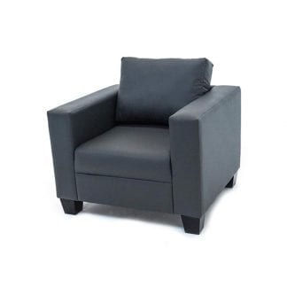 1-seater-PVC-sofa-grey-