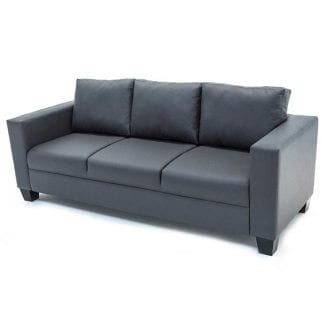 3-seater-PVC-sofa-grey-