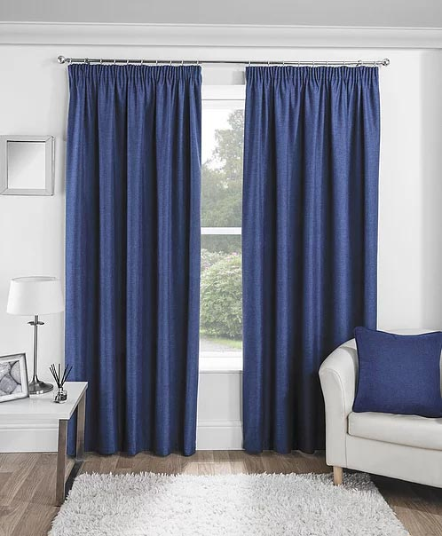 Curtains Essence Navy