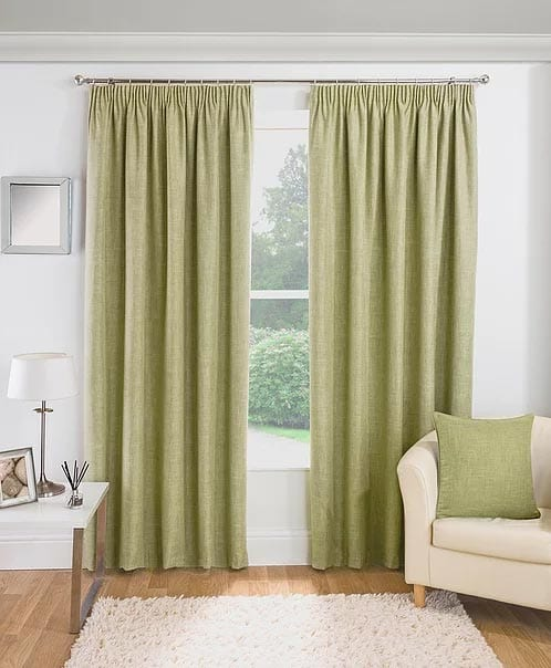 Curtains Essence Green