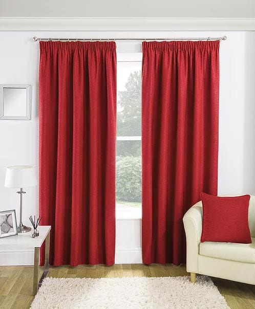 Curtains Essence Red