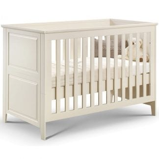 Cameo Cot bed - Stone White