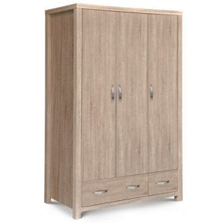 Hamilton 3 Door Combination Wardrobe