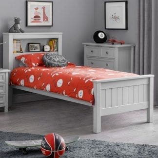 Maine-Bookcase-Bed---Dove-Grey