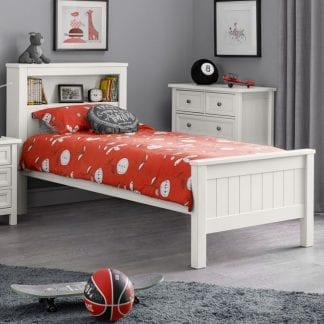 Maine Bookcase Bed 90cm single