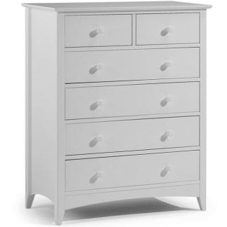 Cameo 4+2 Drawer Chest - Dove Grey