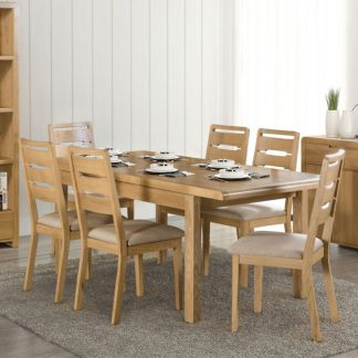 Curve-Oak-Extending-Dining-Table-With-6-Chairs