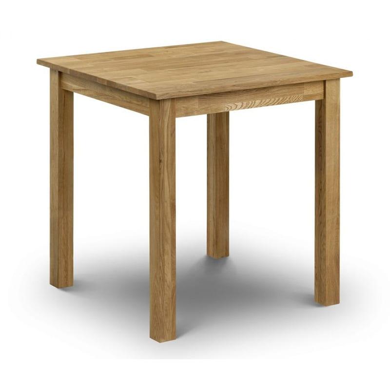 Coxmoor Oak Square Dining Table 75cm X 75cm Jb Focus Furnishing