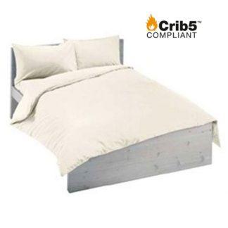 Double Crib 5 bedding pack cream